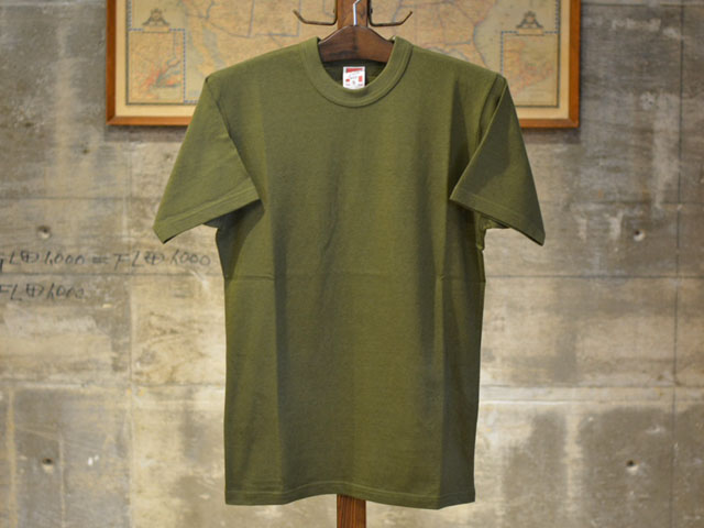 "013ac12f762e OLD GOAT: SET-IN SLEEVE T-SHIRTS, Freewheelers S/S T shirt ""vintage  lightweight olive 