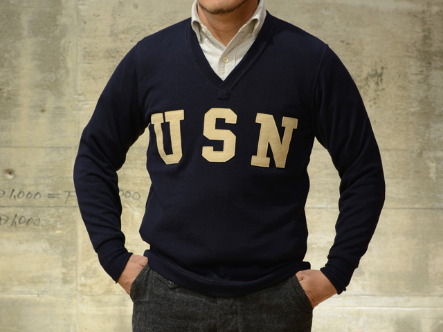 OLD GOAT | Rakuten Global Market: Navy Freewheelers V neck sweater ...