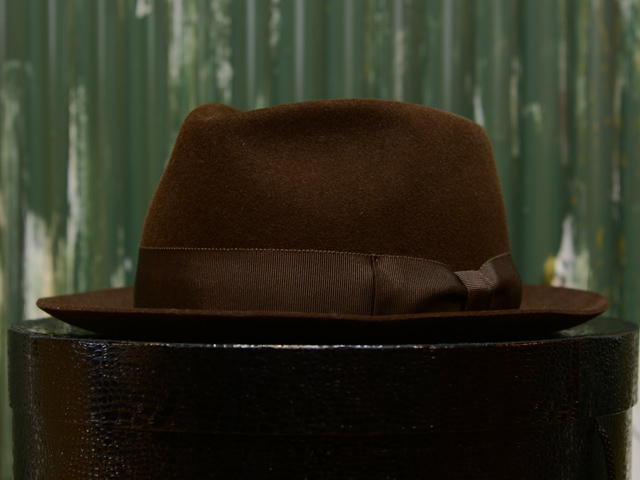 The felt hat comes to be indispensable to the modern fashion scene in  Japan dee61da37c29
