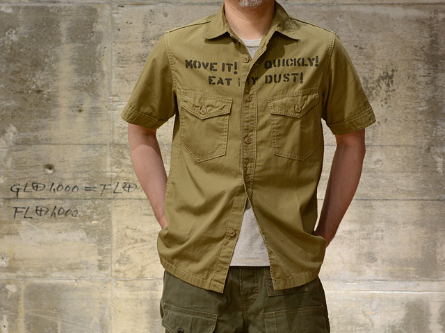 FREEWHEELERS(フリーホイーラーズ) S/S ミリタリーシャツ