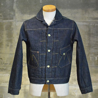 "Check MISTER FREEDOM (Mister freedom) denim jacket ""RANCH BLOUSE"" NOS 12 oz. DENIM"