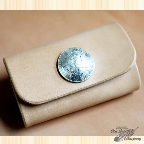キーケース コイン コンチョ ハーフダラー Concho key case keycase Half Dollar - レザー プレゼント ショップオリジナル メンズ スピード対応 全国送料無料 当店オリジナル レディース 便利グッズ 本革 おすすめ サドルレザー 新品未使用 革