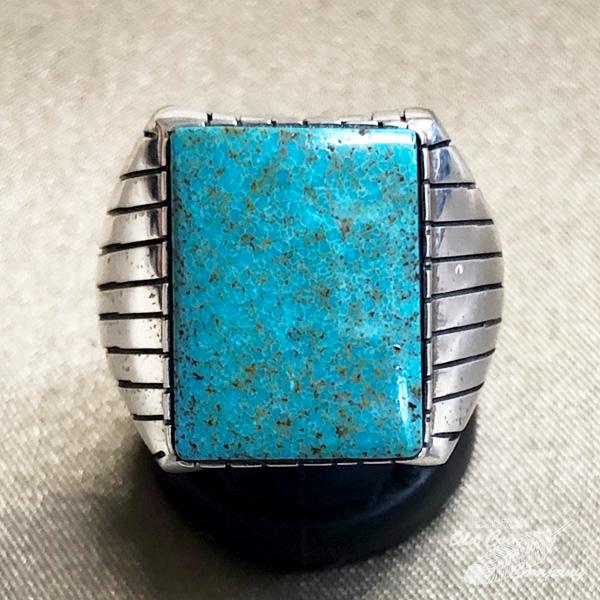 インディアンジュエリー ナバホ族 リング #21 シルバー ターコイズ Indian jewelry 新作製品、世界最高品質人気! - ギフト レディース プレゼント 安値 メンズ おすすめ Ring 鉱山 フォックス