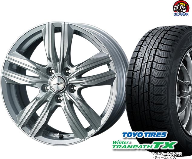 トーヨータイヤ ウィンタートランパスTX 165/65R13 スタッドレス タイヤ・ホイール 新品 4本セット ウェッズ ジョーカースクリュー パーツ バランス調整済み!