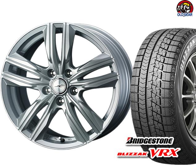 ブリヂストン ブリザック VRX 165/55R14 スタッドレス タイヤ・ホイール 新品 4本セット ウェッズ ジョーカースクリュー パーツ バランス調整済み!