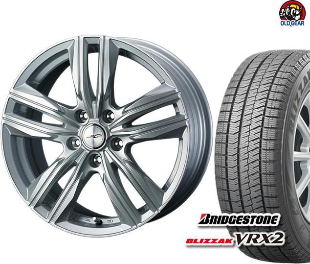 ブリヂストン ブリザック VRX2 155/70R13 スタッドレス タイヤ・ホイール 新品 4本セット ウェッズ ジョーカースクリュー パーツ バランス調整済み!