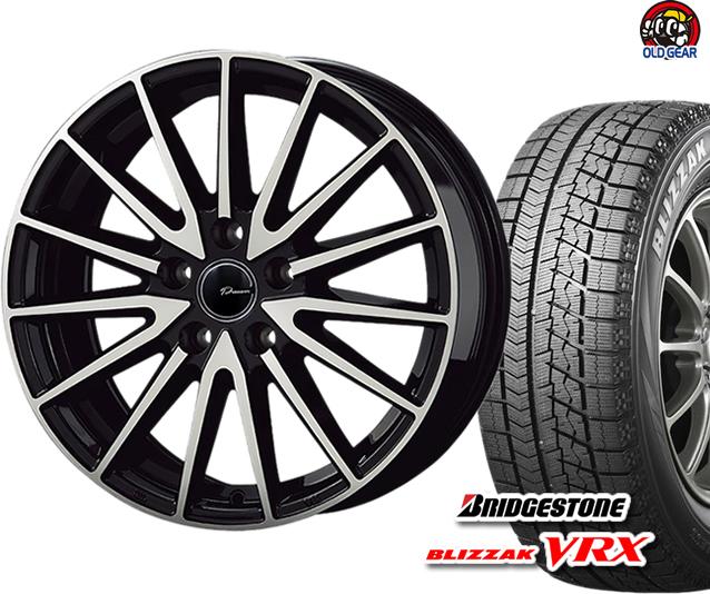 ブリヂストン ブリザック VRX 165/60R14 スタッドレス タイヤ・ホイール 新品 4本セット コーセー プラウザー アシュラ パーツ バランス調整済み!