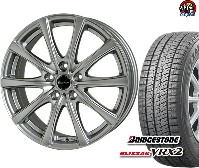 ブリヂストン ブリザック VRX2 175/65R14 スタッドレス タイヤ・ホイール 新品 4本セット ホットスタッフ エクスター プラス2 パーツ バランス調整済み!