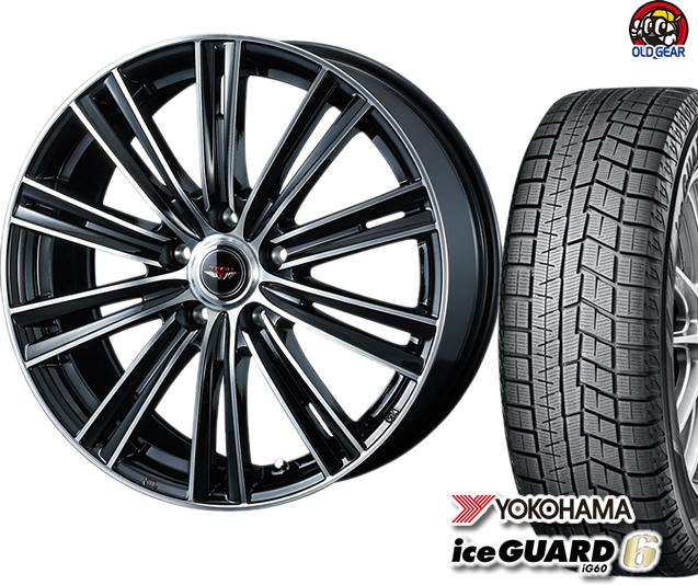 ヨコハマアイスガード6 ig60 175/65R14 スタッドレス タイヤ・ホイール 新品 4本セット ウェッズ テッド スナップ パーツ バランス調整済み!