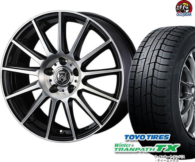 トーヨータイヤ ウィンタートランパスTX 205/65R15 スタッドレス タイヤ・ホイール 新品 4本セット ウェッズ ライツレーKG パーツ バランス調整済み!