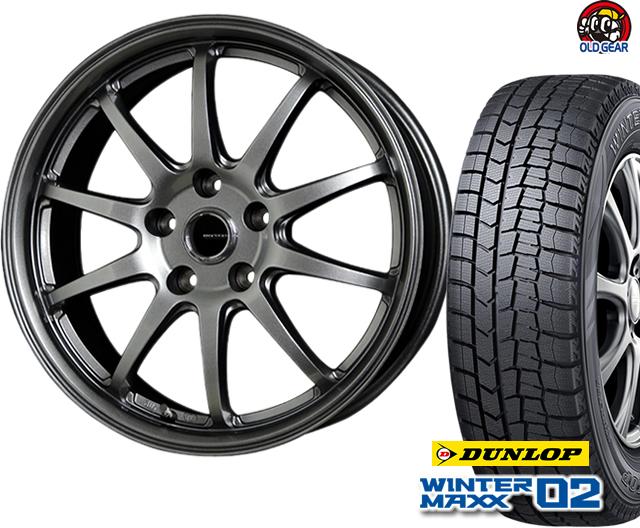 ダンロップ ウィンターマックス WM02 215/65R15 スタッドレス タイヤ・ホイール 新品 4本セット ホットスタッフ Gスピード G-04 パーツ バランス調整済み!