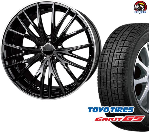 トーヨータイヤ ガリットG5 175/60R16 スタッドレス タイヤ・ホイール 新品 4本セット ホットスタッフ プレシャス アストM1 パーツ バランス調整済み!