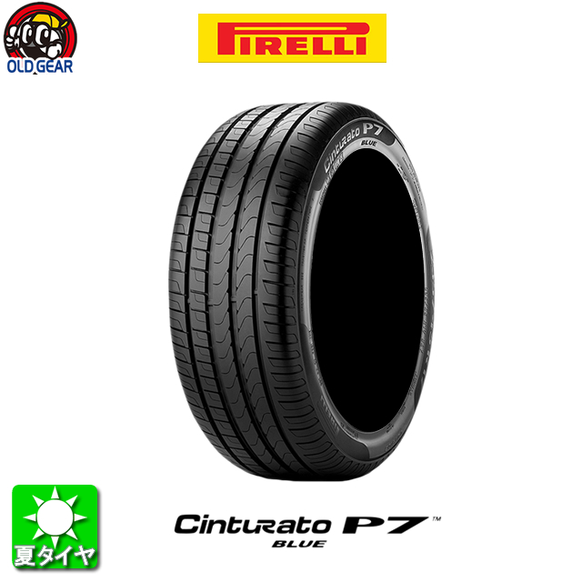 タイヤ単品 235/40R18 PIRELLI ピレリ Cinturato P7 BLUE チントゥラート P7 ブルー 新品 4本セット