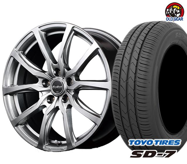 マルカ ユーロスピードG52 タイヤ・ホイール 新品 4本セット トーヨー SD7 185/65R15 パーツ バランス調整済み!