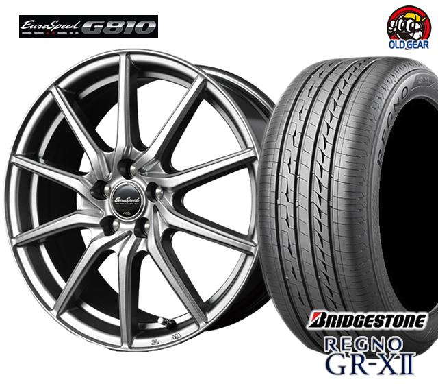 マルカ ユーロスピードG810 タイヤ・ホイール 新品 4本セット ブリヂストン レグノ GR-X2 175/65R15 パーツ バランス調整済み!