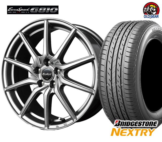 マルカ ユーロスピードG810 タイヤ・ホイール 新品 4本セット ブリヂストン ネクストリー 215/60R16 パーツ バランス調整済み!
