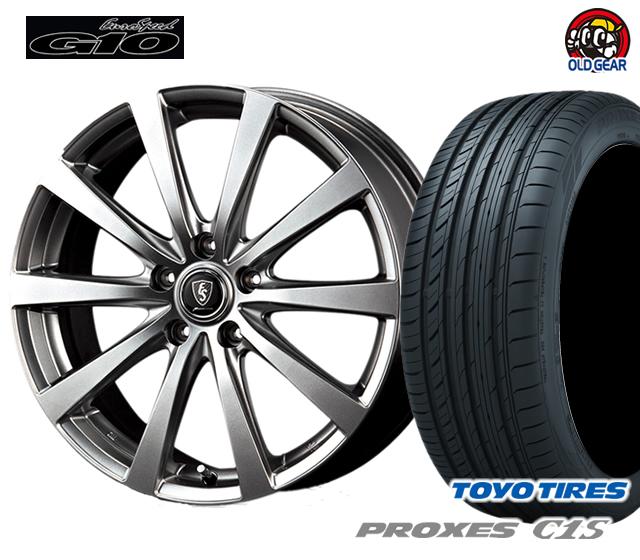 マルカ  ユーロスピードG10 タイヤ・ホイール 新品 4本セット トーヨー プロクセスC1S 205/65R16 パーツ バランス調整済み!