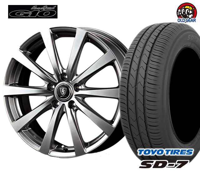 マルカ  ユーロスピードG10 タイヤ・ホイール 新品 4本セット トーヨー SD7 155/70R13 パーツ バランス調整済み!