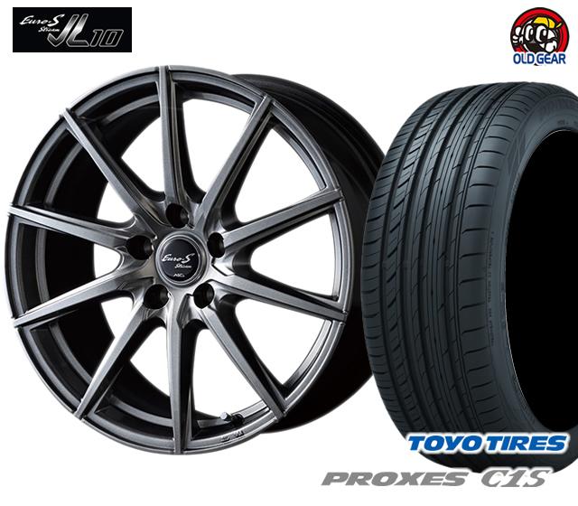 マルカ ユーロストリーム JL10 タイヤ・ホイール 新品 4本セット トーヨー プロクセスC1S 205/65R16 パーツ バランス調整済み!