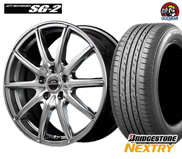マルカ シュナイダー SG-2 タイヤ・ホイール 新品 4本セット ブリヂストン ネクストリー 185/60R16 パーツ バランス調整済み!