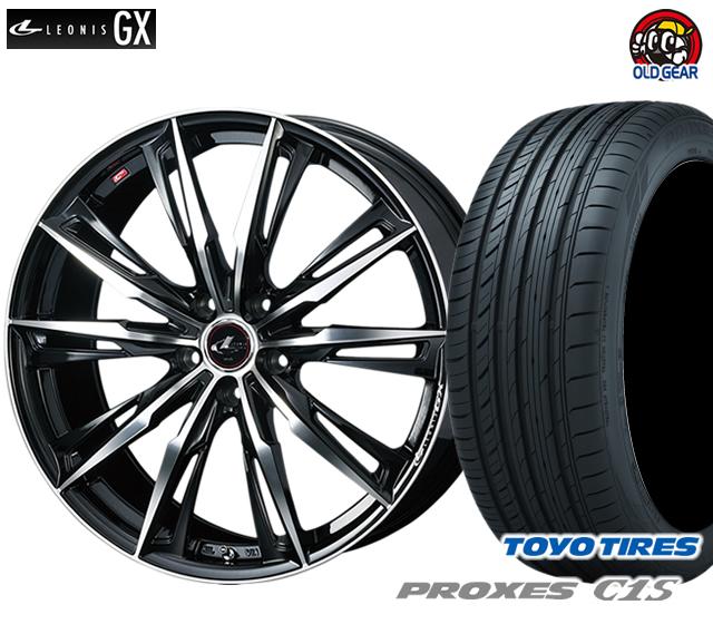 ウエッズ レオニスGX タイヤ・ホイール 新品 4本セット トーヨー プロクセスC1S 195/65R15 パーツ バランス調整済み!