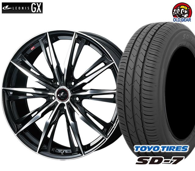 ウエッズ レオニスGX タイヤ・ホイール 新品 4本セット トーヨー SD7 175/65R15 パーツ バランス調整済み!