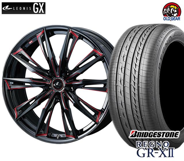 ウエッズ レオニスGX タイヤ・ホイール 新品 4本セット ブリヂストン レグノ GR-X2 175/60R16 パーツ バランス調整済み!
