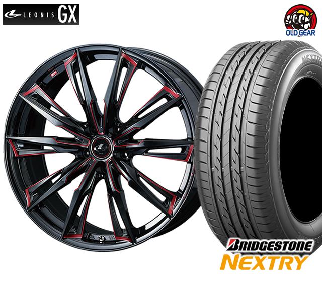 ウエッズ レオニスGX タイヤ・ホイール 新品 4本セット ブリヂストン ネクストリー 165/60R15 パーツ バランス調整済み!
