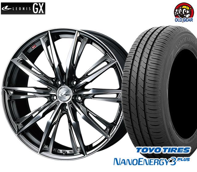 ウエッズ レオニスGX タイヤ・ホイール 新品 4本セット トーヨー ナノエナジー3プラス 215/35R19 パーツ バランス調整済み!