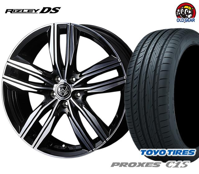 ウェッズ ライツレーDS タイヤ・ホイール 新品 4本セット トーヨー プロクセスC1S 215/55R17 パーツ バランス調整済み!