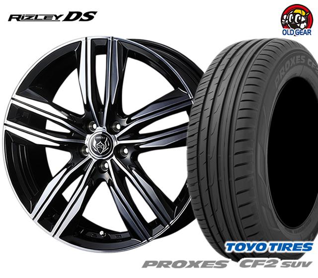 ウェッズ ライツレーDS タイヤ・ホイール 新品 4本セット トーヨー プロクセスCF2 SUV 215/65R16 パーツ バランス調整済み!