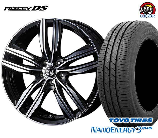 ウェッズ ライツレーDS タイヤ・ホイール 新品 4本セット トーヨー ナノエナジー3プラス 225/40R18 パーツ バランス調整済み!