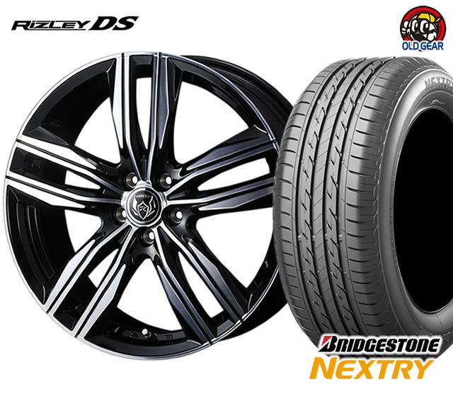 ウェッズ ライツレーDS タイヤ・ホイール 新品 4本セット ブリヂストン ネクストリー 205/70R15 パーツ バランス調整済み!