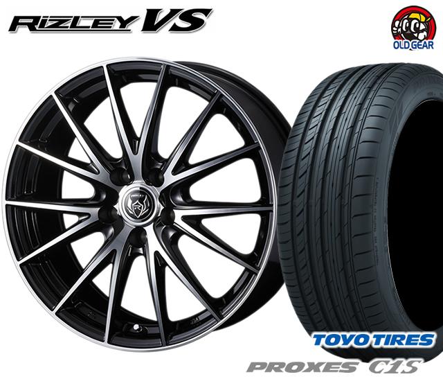 ウェッズ ライツレーVS タイヤ・ホイール 新品 4本セット トーヨー プロクセスC1S 235/50R18 パーツ バランス調整済み!