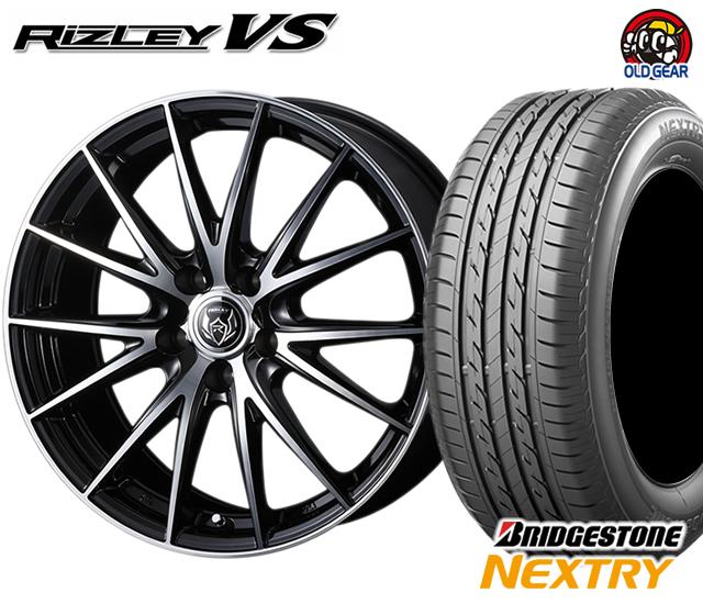 ウェッズ ライツレーVS タイヤ・ホイール 新品 4本セット ブリヂストン ネクストリー 185/60R15 パーツ バランス調整済み!