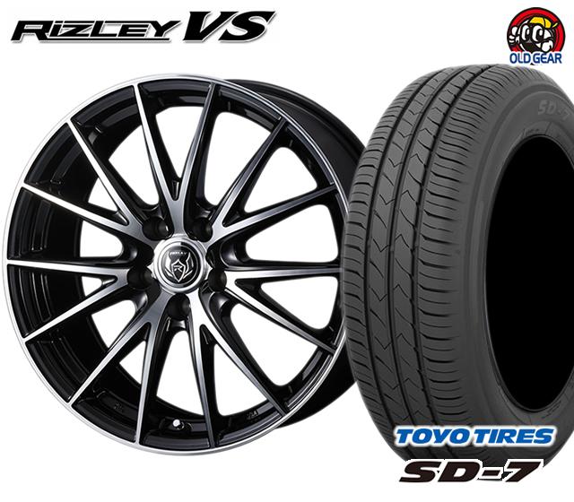 ウェッズ ライツレーVS タイヤ・ホイール 新品 4本セット トーヨー SD7 225/45R18 パーツ バランス調整済み!