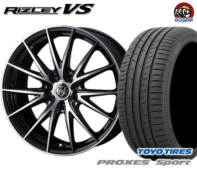 ウェッズ ライツレーVS タイヤ・ホイール 新品 4本セット トーヨー プロクセス・スポーツ 235/45R18 パーツ バランス調整済み!