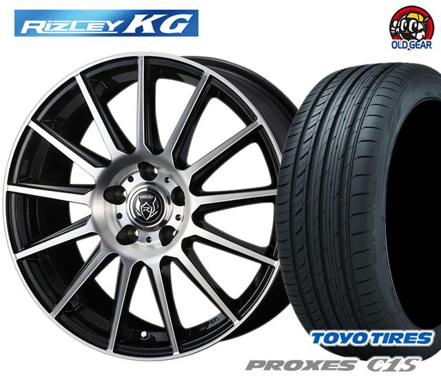 ウェッズ ライツレーKG タイヤ・ホイール 新品 4本セット トーヨー プロクセスC1S 215/55R17 パーツ バランス調整済み!