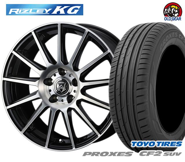 ウェッズ ライツレーKG タイヤ・ホイール 新品 4本セット トーヨー プロクセスCF2 SUV 215/60R16 パーツ バランス調整済み!