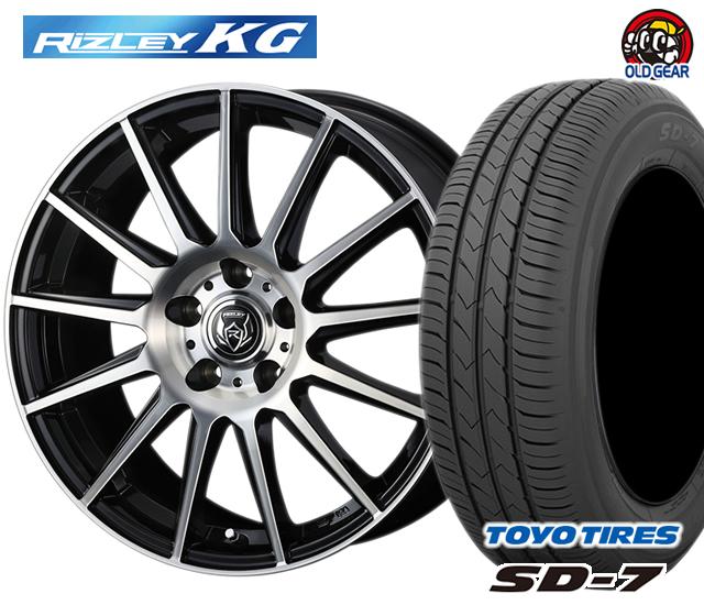 ウェッズ ライツレーKG タイヤ・ホイール 新品 4本セット トーヨー SD7 225/45R18 パーツ バランス調整済み!