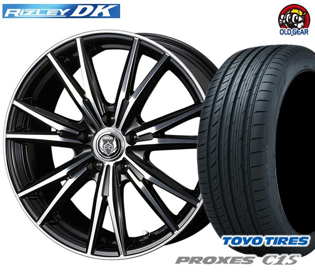 ウェッズ ライツレーDK タイヤ・ホイール 新品 4本セット トーヨー プロクセスC1S 215/45R18 パーツ バランス調整済み!