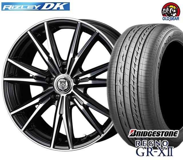 ウェッズ ライツレーDK タイヤ・ホイール 新品 4本セット ブリヂストン レグノ GR-X2 205/65R15 パーツ バランス調整済み!