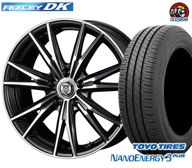 ウェッズ ライツレーDK タイヤ・ホイール 新品 4本セット トーヨー ナノエナジー3プラス F235/40R18・R265/35R18 パーツ バランス調整済み!