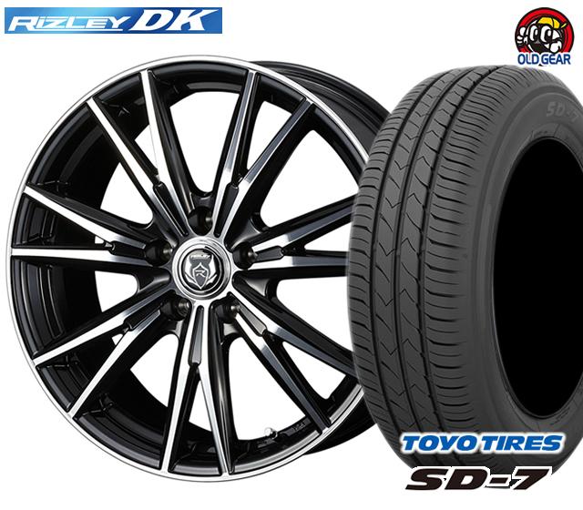 ウェッズ ライツレーDK タイヤ・ホイール 新品 4本セット トーヨー SD7 215/45R17 パーツ バランス調整済み!