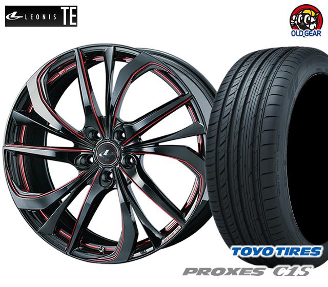ウエッズ レオニスTE タイヤ・ホイール 新品 4本セット トーヨー プロクセスC1S 215/55R17 パーツ バランス調整済み!
