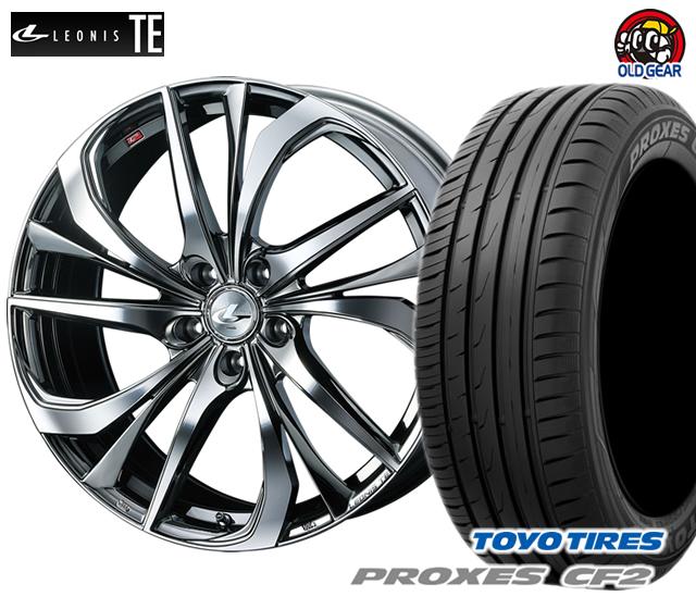 ウエッズ レオニスTE タイヤ・ホイール 新品 4本セット トーヨー プロクセス CF2 205/45R16 パーツ バランス調整済み!