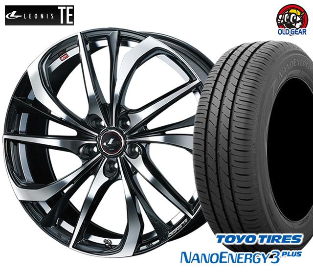 ウエッズ レオニスTE タイヤ・ホイール 新品 4本セット トーヨー ナノエナジー3プラス 205/50R16 パーツ バランス調整済み!