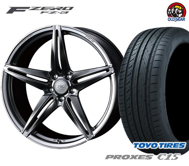 【即納!最大半額!】 ウェッズ F 新品 ZERO FZ-3 エフゼロ タイヤ トーヨー・ホイール FZ-3 新品 4本セット トーヨー プロクセスC1S 225/50R18 パーツ バランス調整済み!, アワラ市:5fca45cb --- statwagering.com