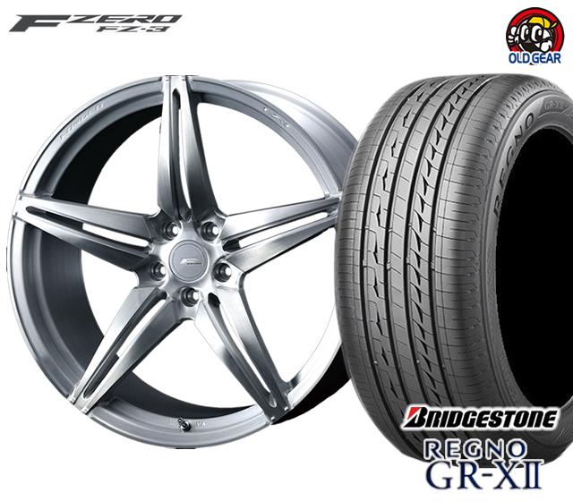 【お買い得!】 ウェッズ F ZERO レグノ FZ-3 新品 エフゼロ ブリヂストン タイヤ・ホイール 新品 4本セット ブリヂストン レグノ GR-X2 F225/40R18・R255/35R18 パーツ バランス調整済み!, まざっせこらっせ:5837ef7e --- inglin-transporte.ch