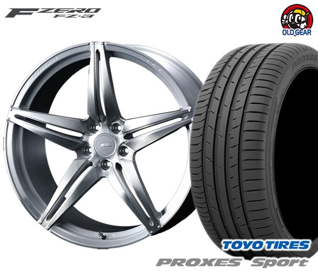 ウェッズ F ZERO FZ-3 エフゼロ タイヤ・ホイール 新品 4本セット トーヨー プロクセス・スポーツ 225/45R18 パーツ バランス調整済み!